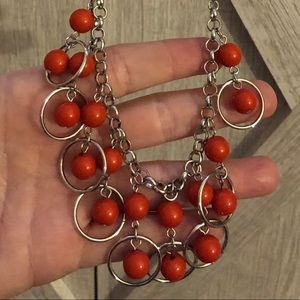 ⭐️Paparazzi Orange Bubble Necklace⭐️